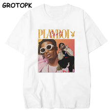 Load image into Gallery viewer, High Quality Vintage Playboi Carti Vintage 90s Merchandise Print Men T Shirt O-neck Casual Cotton T-shirt Man Woman Tees Tops