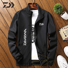 Load image into Gallery viewer, Daiwa Jacket Men Fishing Shirt Solid Thin Uv Protection Clothes Fishing Clothing Summer Breathable Quick Dry Soft Shell Outdoor