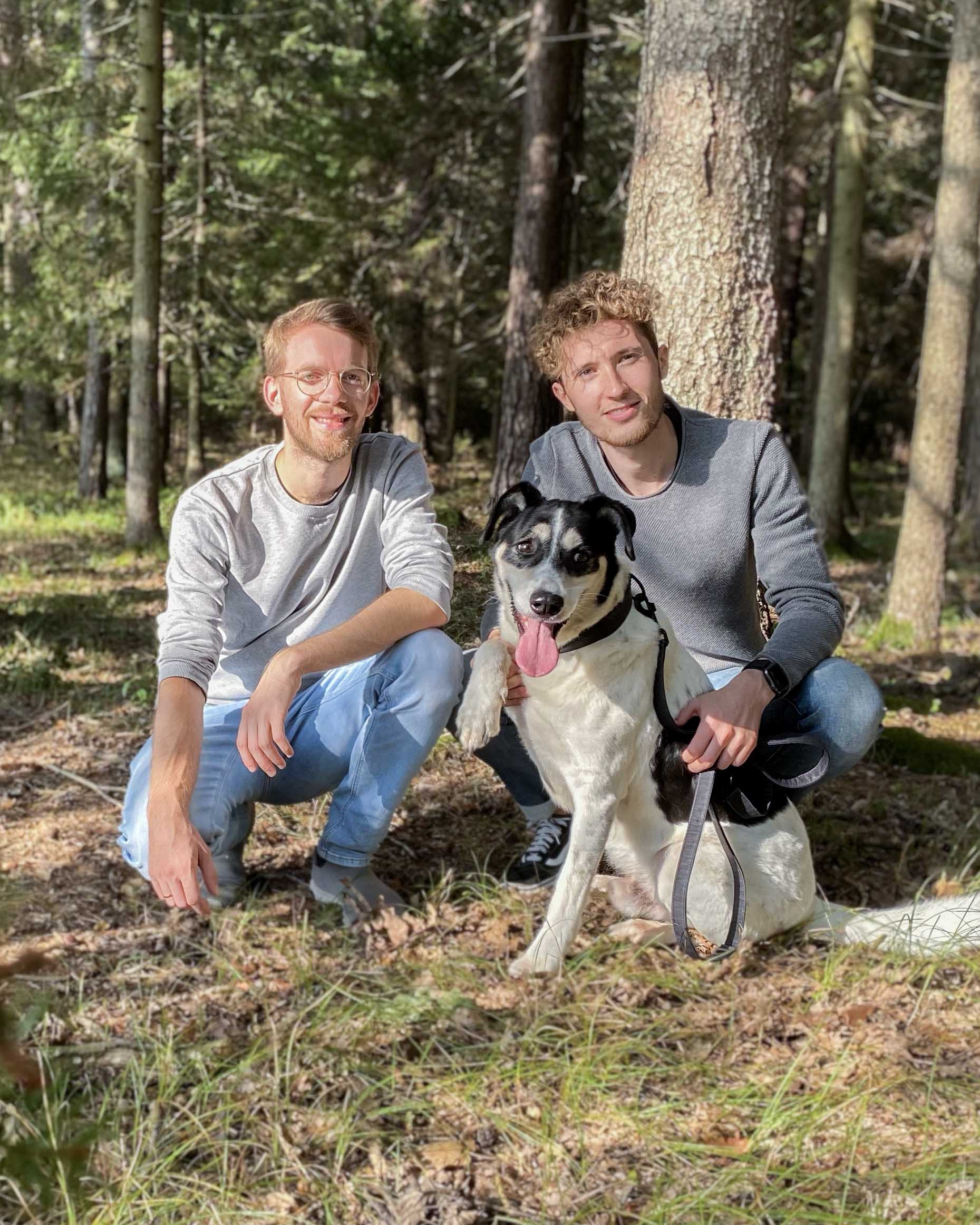 Christian and Lukas are the founders of the german company FollowPaw. Their passion for dogs and sustainable products make FollowPaw a unique and inspiring brand.