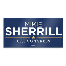 Load image into Gallery viewer, Mikie Sherrill Blue Bumper Sticker