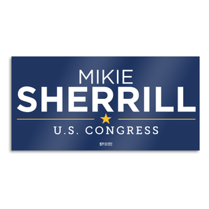 Mikie Sherrill Blue Bumper Sticker
