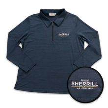 Load image into Gallery viewer, Mikie Sherrill Performance Quarter Zip