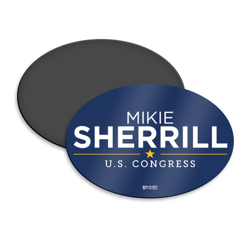 Mikie Sherrill Magnetic Bumper Sticker