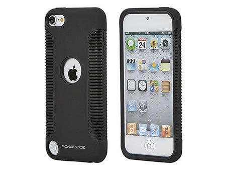 Monoprice Sure Grip PC+TPU Case for iPod Touch 5th Generation - Black