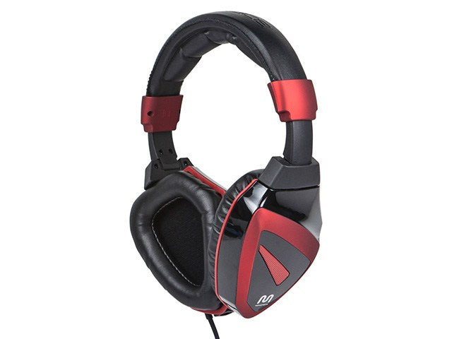 Monoprice Fragz SP Headset for PC - Black/Red