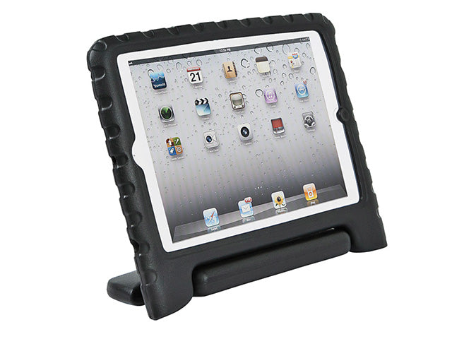 Monoprice - Kidz Cover and Stand for iPad® mini w/ Retina Display - Black