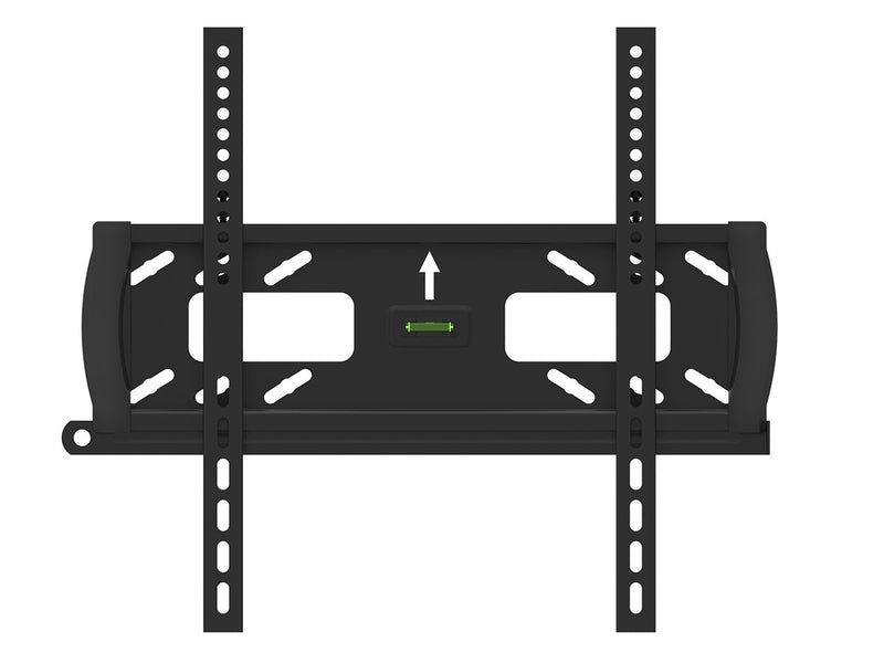 Monoprice - Fixed TV Wall Mount Bracket with Anti-Theft Feature, UL Certified (Max 99 lbs, 32~55 inch) NO LOGO
