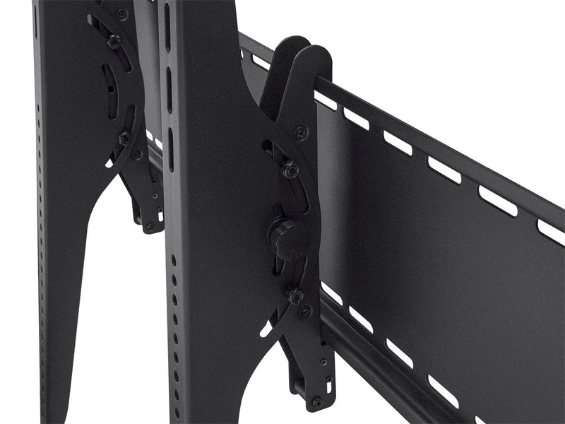 Monoprice - Tilt Wall Mount Bracket for 60-100 inch TVs, Max 220 lbs, UL Certified