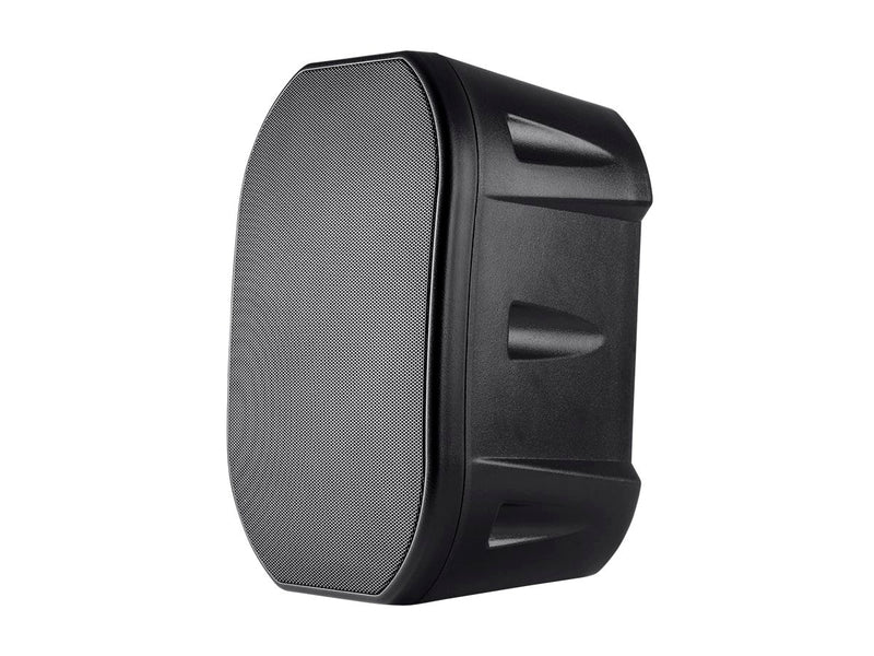 Monoprice - 6.5-inch Weatherproof 2-Way Speaker with Wall Mount Bracket (Black)