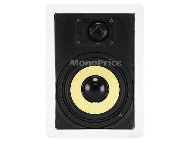 Caliber In-Wall Speakers 6.5-Inch Fiber 2-Way (pair)