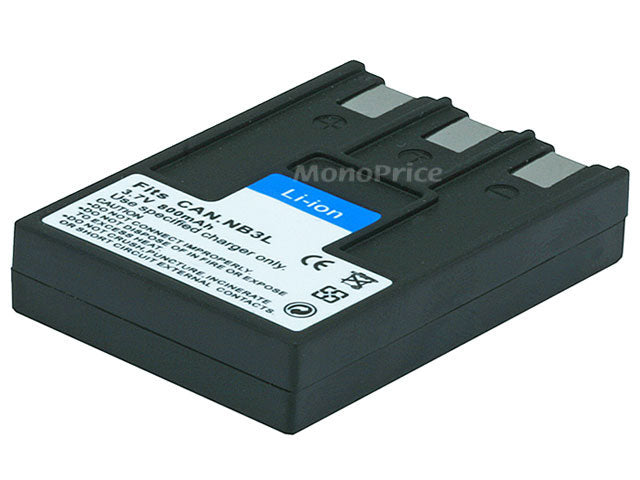 Monoprice Canon Camera Replacement Battery NB3L /NB3LH