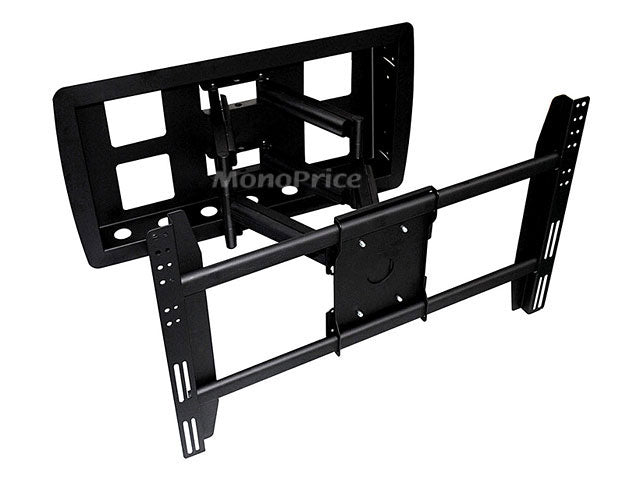 Monoprice Recessed Adjustable Tilting / Swivelling Wall Mount Bracket for LCD LED Plasma (Max 200Lbs, 42~63inch)