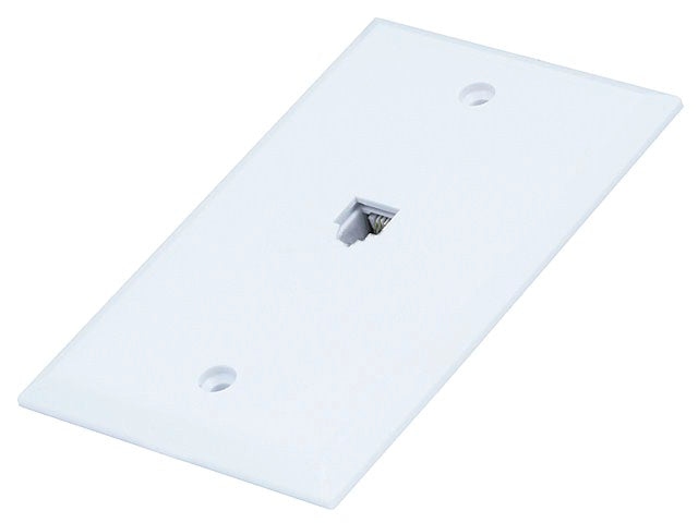 Monoprice - Wall Plate Jacks 6P6C Single - Flush Type