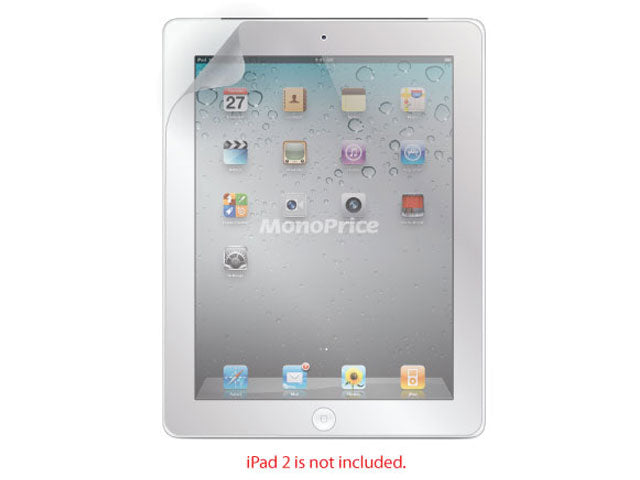 Monoprice Screen Protective Film w/ Matte Finish for iPad 2 and iPad 3