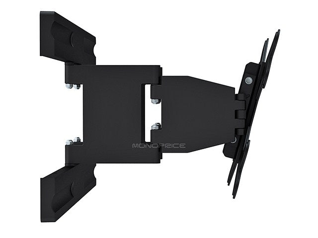 Monoprice Super Low Profile Adjustable Tilting/Swiveling TV Wall Mount Bracket for LCD LED Plasma (Max 66Lbs, 17~37inch)