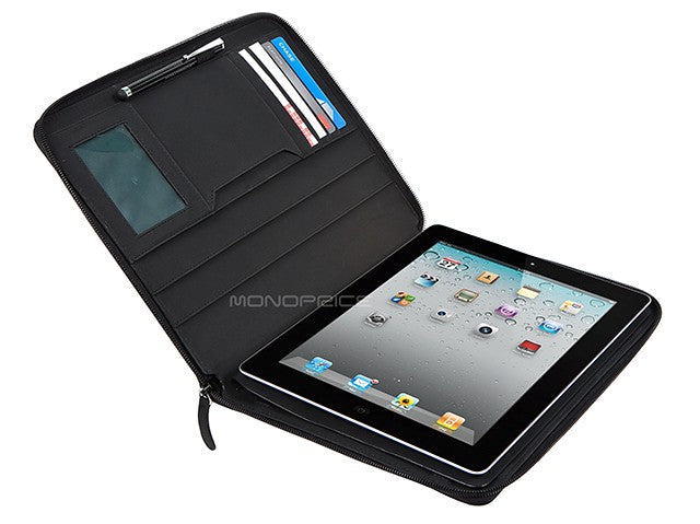 Monoprice Portfolio Planner Case for all iPad - Black