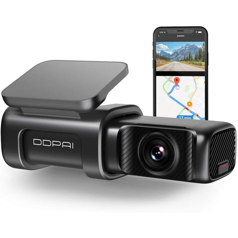 DDPAI Mini 5 DashCam, 4K UHD, GPS, 4GB RAM with 64GB eMMC Storage