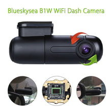 Blueskysea B1W Dash Cam, 1080P Resolution