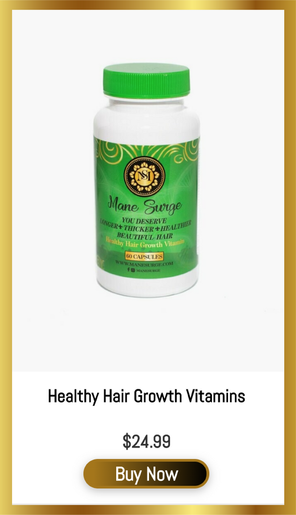 Healthy Hair Growth Vitamins
