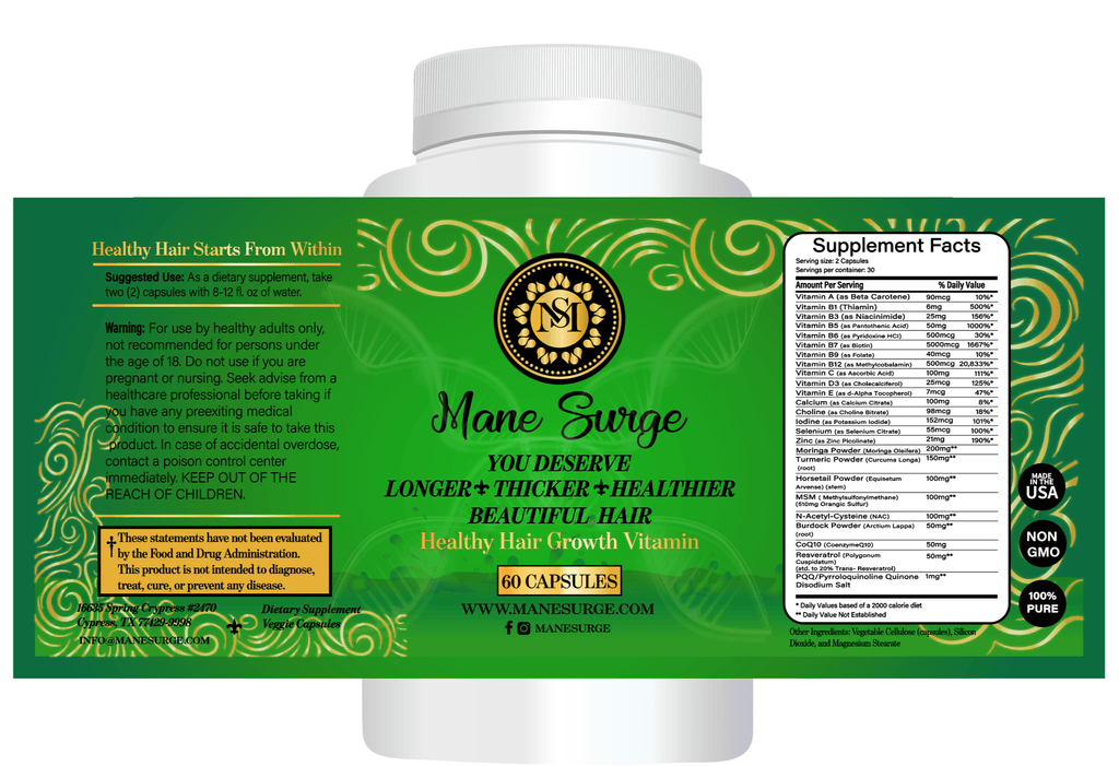 #ManeSurge# - #manesurgehairgrowth#