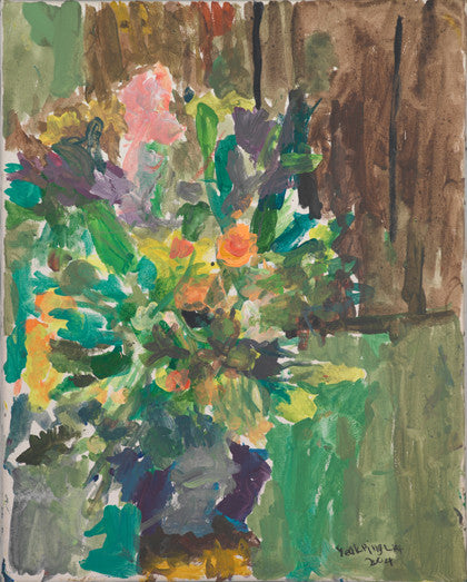 04522 Flowers - Painted at age 10