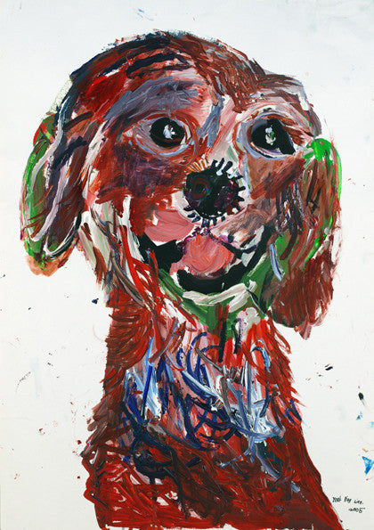 05412 My Dog III - Painted at age 11