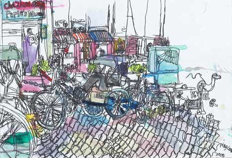 05902 Trishaw - Painted at age 11