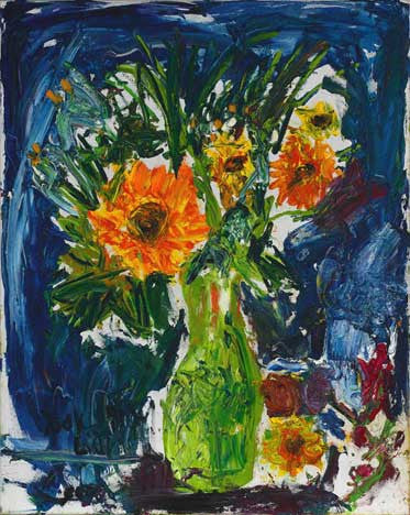 06501 Sunflowers IV - Painted at age 12