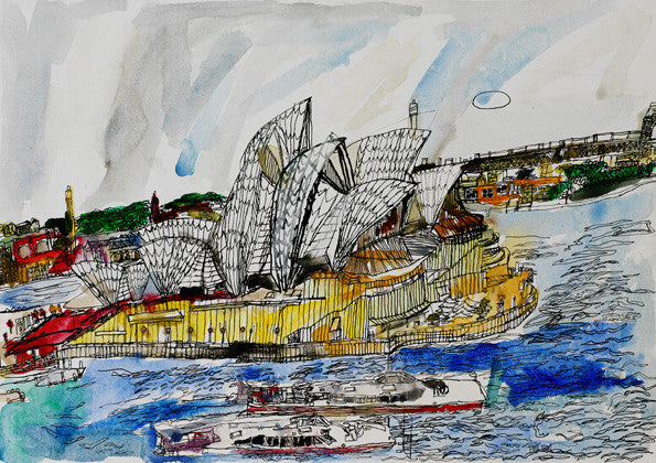 11003 Sydney Opera House - Painted in 2011