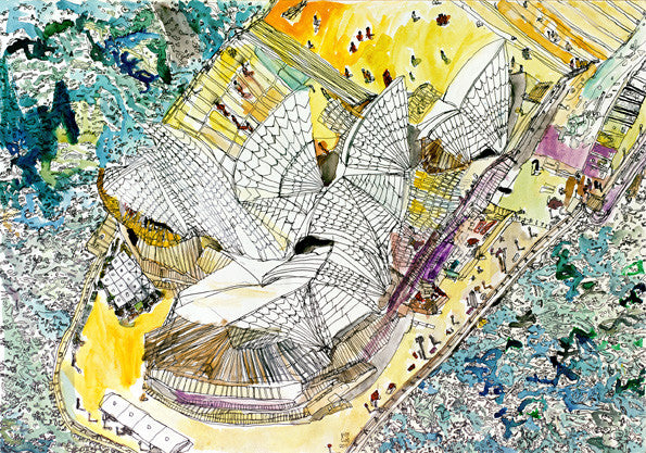 11006 Sydney Opera House - Painted in 2011