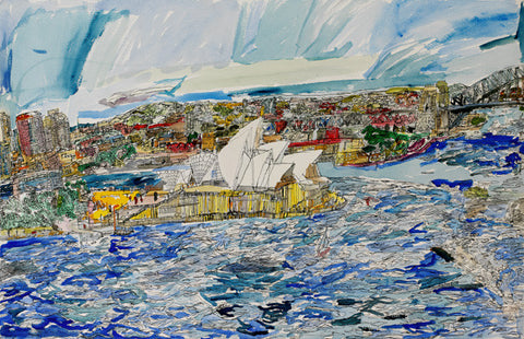 11013 Sydney Opera House - Painted in 2011