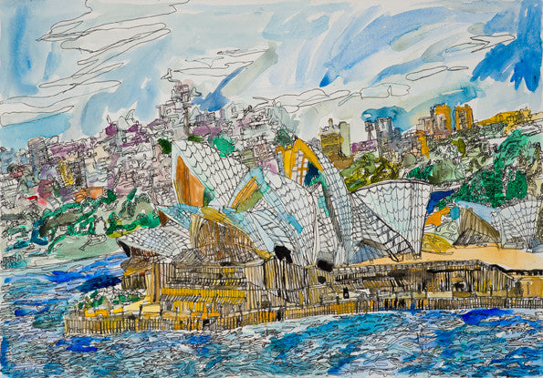 12003 Sydney Opera House - Painted in 2012