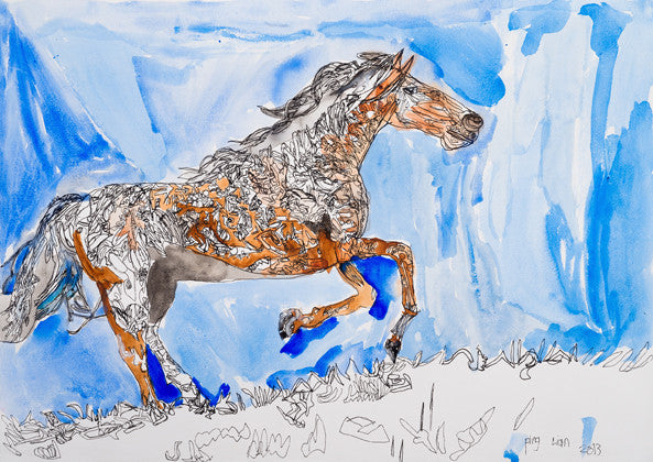 Copy of 13301 Horse - Painted in 2013 (Limited Edition)