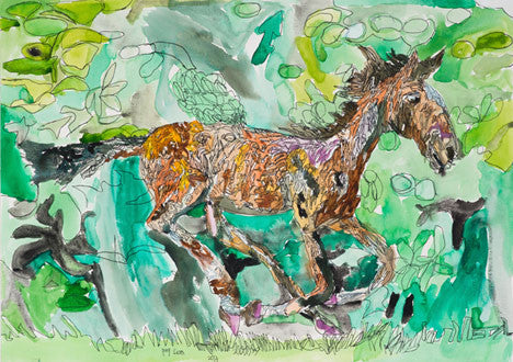 13023 Horse - Painted in 2013