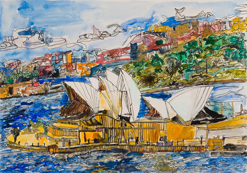 15002 Sydney Opera House - Painted in 2015 (Limited Edition of 300)