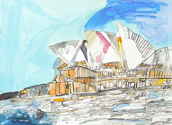 Original 16007 Sydney Opera House - Painted in 2016
