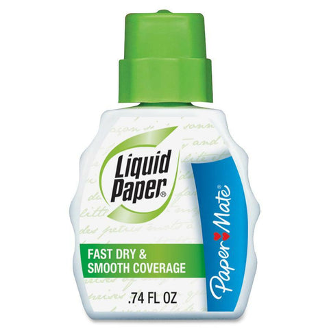 Paper Mate Liquid Paper Fast Dry Correction Fluid