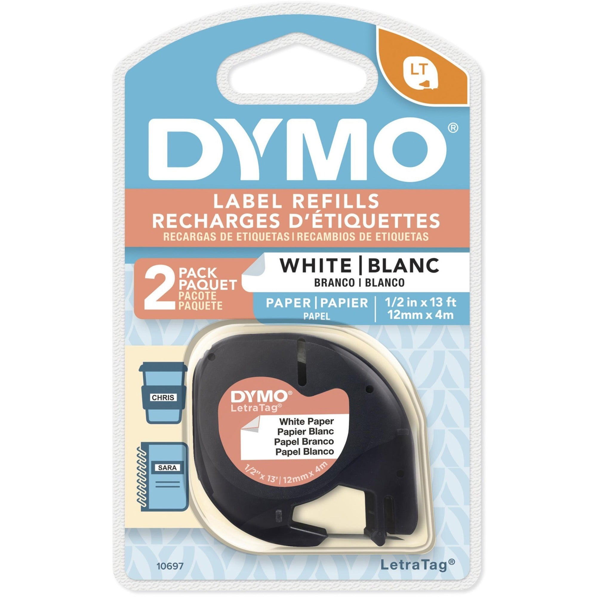 Dymo LetraTag Electronic Labelmaker Tape