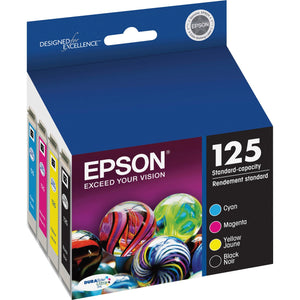 Epson DURABrite 125 Original YELLOW, CYAN, MEGENTA Ink Cartridge