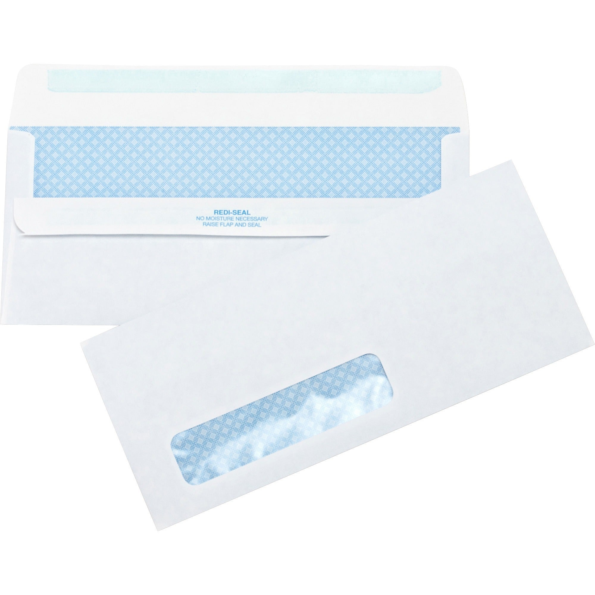 Business Source No.10 Standard Window Invoice Envelopes