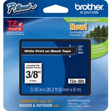 Brother P-touch TZe Laminated Tape Cartridges SKU: BRT TZE325