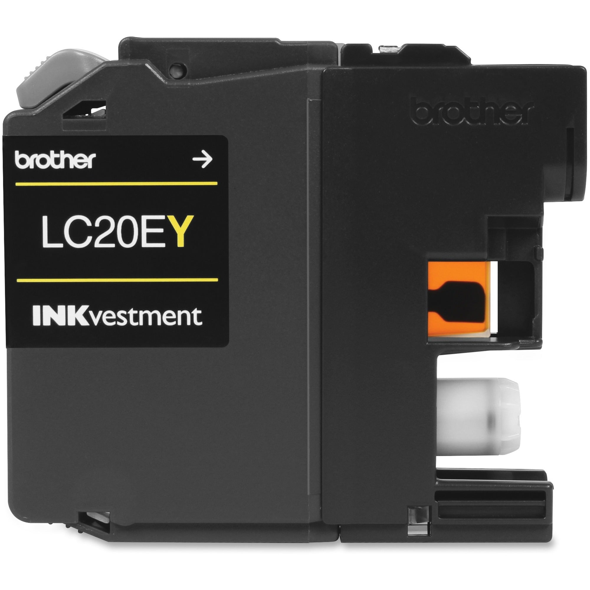 Brother Genuine LC20EYXXL INKvestment Super High Yield Yellow Ink Cartridge