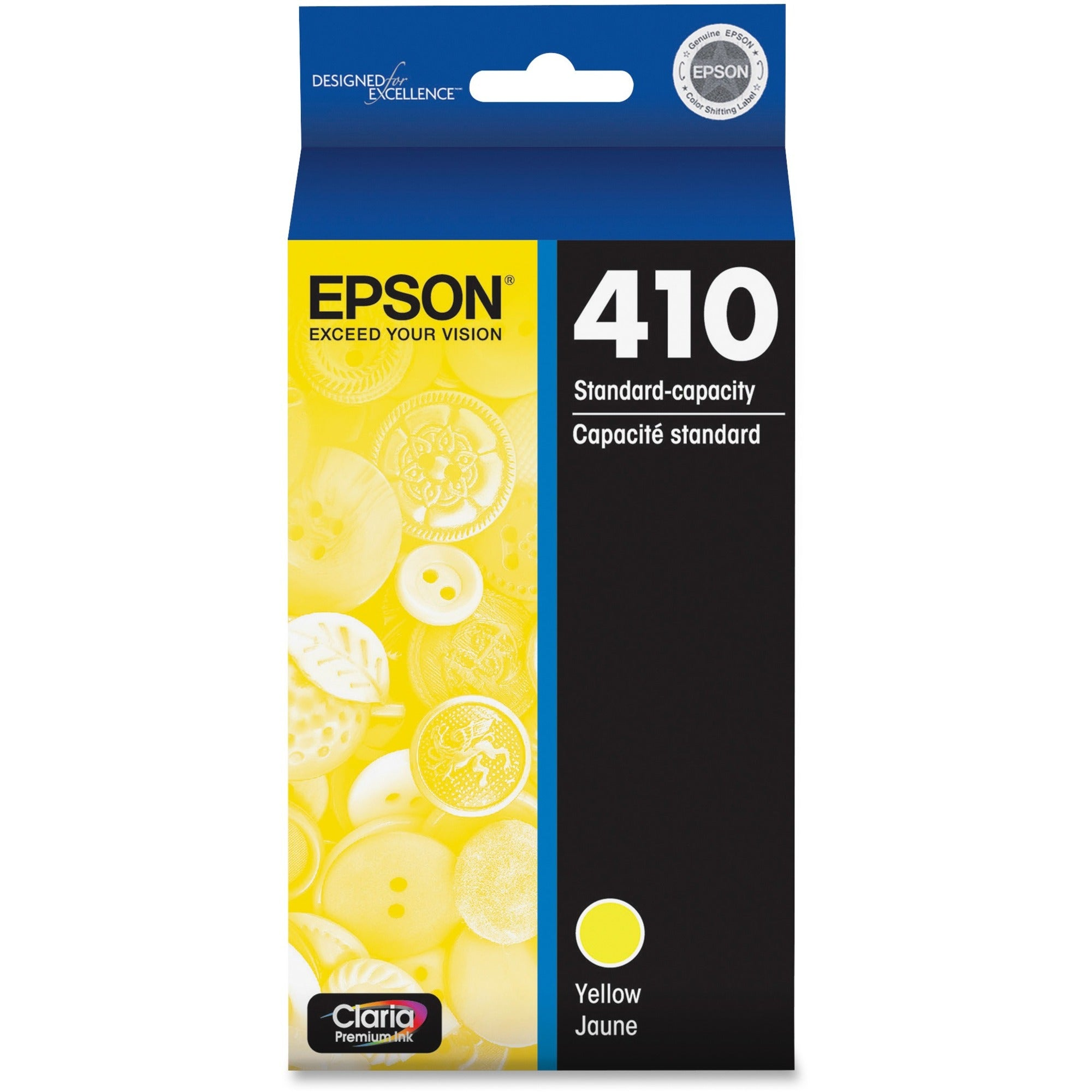 Epson Claria 410 Original Ink Cartridge - Yellow