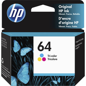 HP 64 (N9J89AN) Ink Cartridge - Tri-color