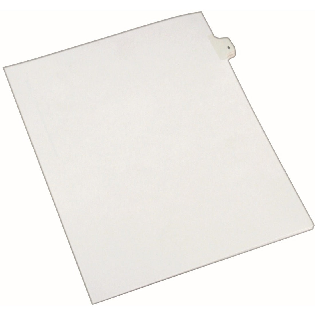 Avery® Individual Legal Dividers Allstate(R) Style, Letter Size, Side Tab #5 (82203)