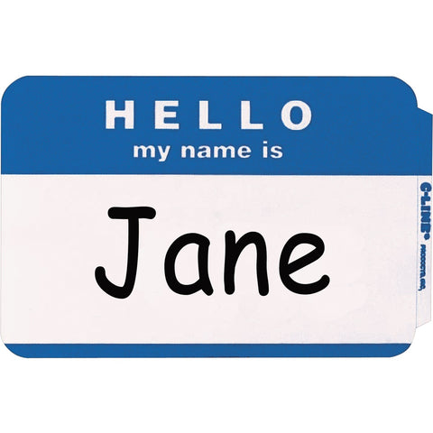 C-Line HELLO my name is... NameTags