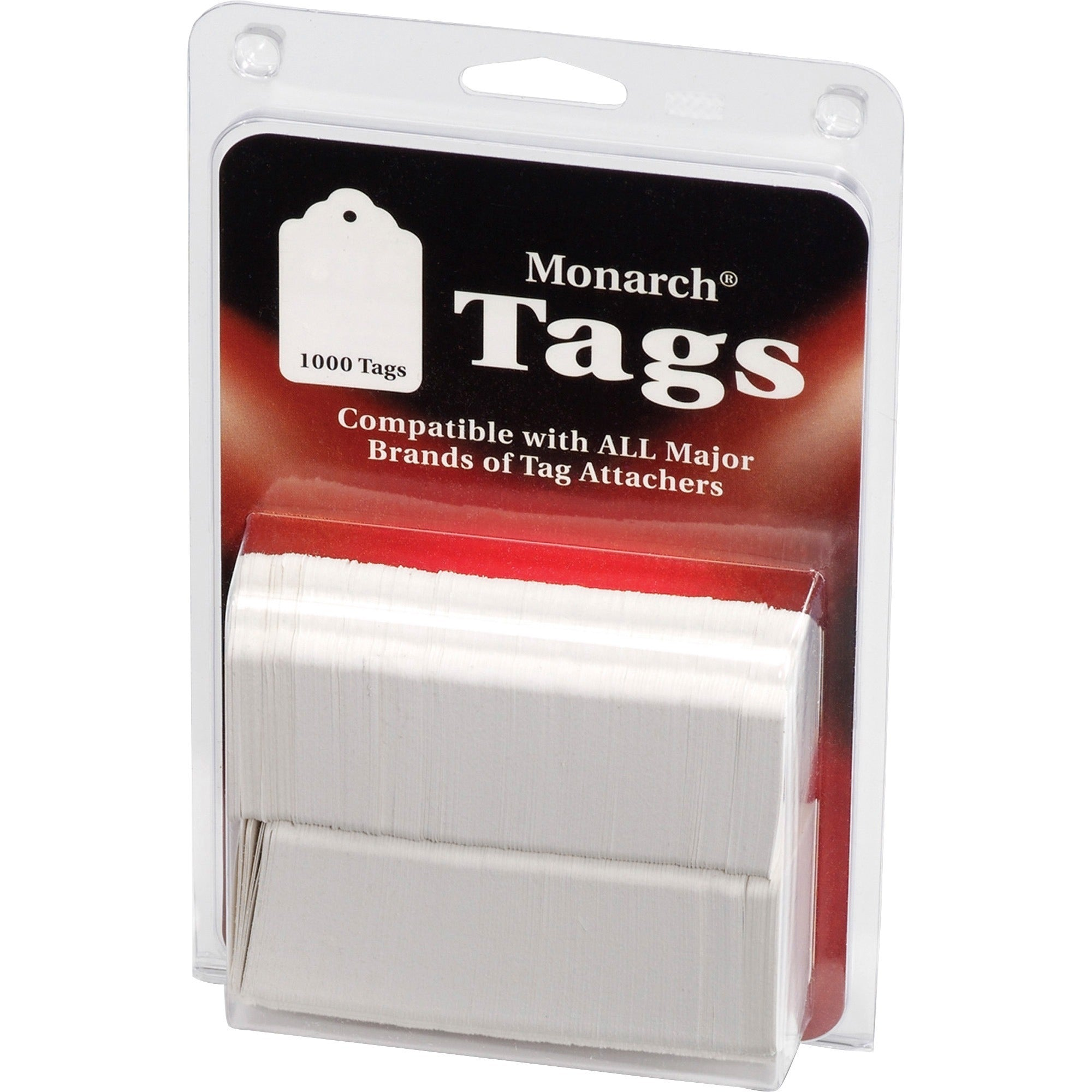 Monarch Stringless White TagsSKU: MNK 925047