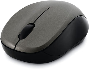 Verbatim Wireless Silent Mouse 2.4GHz with Nano Receiver - Ergonomic, Blue LED, Noiseless and Silent Click for Mac and Windows - Graphite