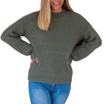 Load image into Gallery viewer, Dana Knit - Olive Green