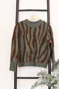Tully Knit - Zebra